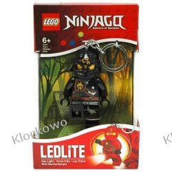 MINI LATARKA LED LEGO - CZARNY NINJA COLE - BRELOK