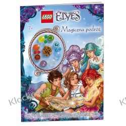 KSIĄŻKA LEGO ELVES - MAGICZNA PODRÓŻ Playmobil