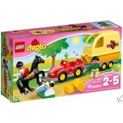10807 PRZYCZEPA DLA KONI (Horse Trailer) KLOCKI LEGO DUPLO  Policja