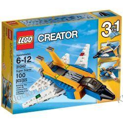 31042 SUPER ŚCIGACZ (Super Soarer) KLOCKI LEGO CREATOR Playmobil