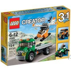 31043 TRANSPORTER HELIKOPTERÓW (Chopper Transporter) KLOCKI LEGO CREATOR
