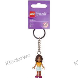 853548 BRELOK Z FIGURKĄ ANDREI (Andrea Key Chain)  LEGO GADŻETY Kompletne zestawy