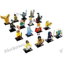 71011 KOLEKCJA MINIFIGUREK KOMPLET 16 SZT - KLOCKI LEGO MINIFIGURKI
