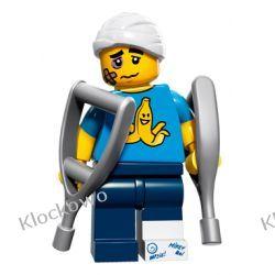 71011 - NIEZDARNY CHŁOPAK (Clumsy Guy) 15 SERIA LEGO MINIFIGURKI