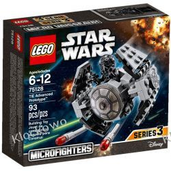 75128 TIE Advanced Prototype KLOCKI LEGO STAR WARS  Pirates