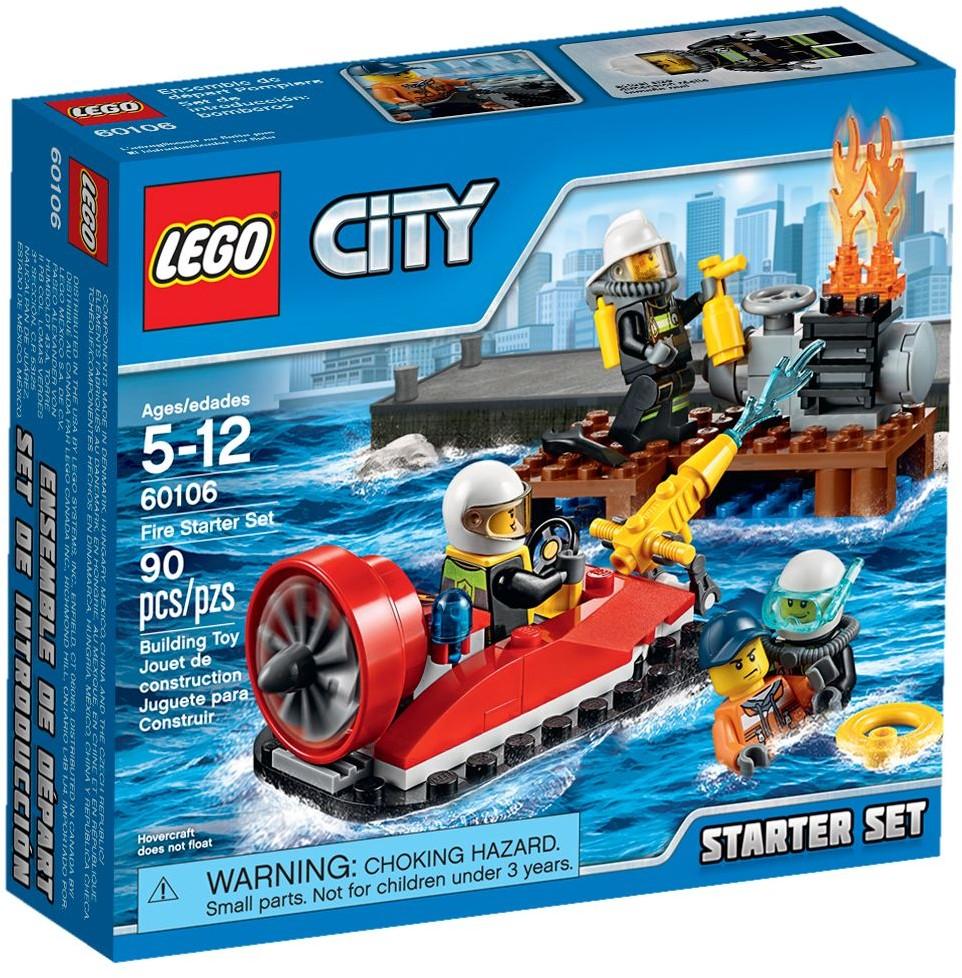 60106 Strażacy Zestaw Startowy Fire Starter Set Klocki Lego City