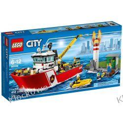 60109 ŁÓDŹ STRAŻACKA (Fire Boat) KLOCKI LEGO CITY Pirates