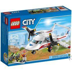 60116 SAMOLOT RATOWNICZY (Ambulance Plane) KLOCKI LEGO CITY