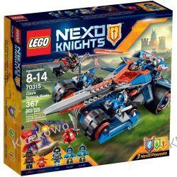 70315 POJAZD CLAYA (Clay's Rumble Bladeot) KLOCKI LEGO NEXO KNIGHTS Playmobil