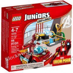 10721 - IRON MAN KONTRA LOKI (Iron Man vs Loki) - KLOCKI LEGO JUNIORS Kompletne zestawy