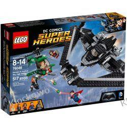 76046 BITWA POWIETRZNA (Heroes of Justice: Sky High Battle) - KLOCKI LEGO SUPER HEROES Kompletne zestawy
