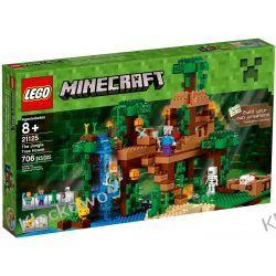 21125 - DOMEK NA DRZEWIE W DŻUNGLI (The Jungle Tree House)- KLOCKI LEGO MINECRAFT Creator