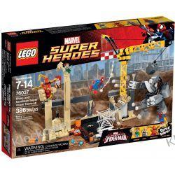 76037 ATAK RHINO I SANDMANA (Rhino and Sandman Supervillain Team-up) - KLOCKI LEGO SUPER HEROES Kompletne zestawy