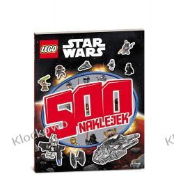 KSIĄŻKA LEGO® STAR WARS™! 500 naklejek