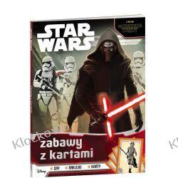 KSIĄŻKA STAR WARS™ Zabawy z kartami Książki dla dzieci i młodzieży