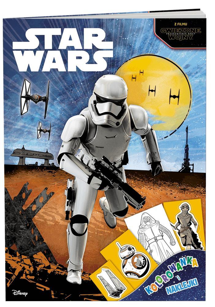 Książka Star Wars Kolorowanka I Naklejki Na Bazarekpl