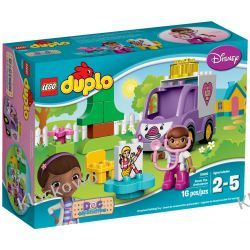 10605 KARETKA DOSI (Doc McStuffins Rosie the Ambulance) KLOCKI LEGO DUPLO  Kompletne zestawy