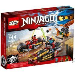 70600 POŚCIG NA MOTOCYKLU (Ninja Bike Chase) KLOCKI LEGO NINJAGO