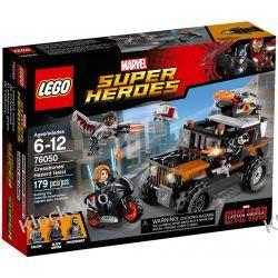 76050 POŚCIG ZA CROSSBONOSEM (Crossbones' Hazard Heist) - KLOCKI LEGO SUPER HEROES Playmobil