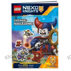 KSIĄŻKA LEGO® NEXO KNIGHTS. Zadanie naklejanie