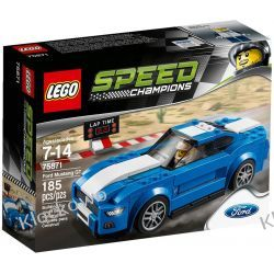75871 Ford Mustang GT KLOCKI LEGO SPEED CHAMPIONS Playmobil