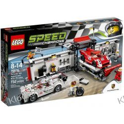 75876 Porsche 919 Hybrid and 917K Pit Lane KLOCKI LEGO SPEED CHAMPIONS Racers