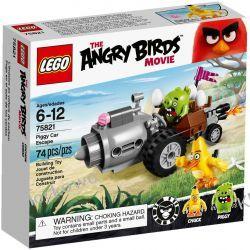 75821 UCIECZKA SAMOCHODEM ŚWINEK (Piggy Car Escape) KLOCKI LEGO ANGRY BIRDS Racers