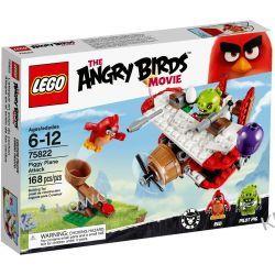 75822 ATAK SAMOLOTEM ŚWINEK (Piggy Plane Attack) KLOCKI LEGO ANGRY BIRDS Playmobil