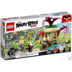 75823 KRADZIEŻ JAJ NA PTASIEJ WYSPIE (Bird Island Egg Heist) KLOCKI LEGO ANGRY BIRDS Racers