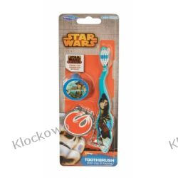 Szczoteczka do zębów z nakładką i brelokiem - Star Wars  Friends