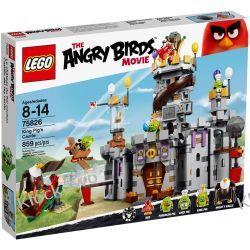 75826 ZAMEK ŚWIŃSKIEGO KRÓLA (King Pig's Castle) KLOCKI LEGO ANGRY BIRDS Playmobil