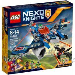 70320 MYŚLWIEC V2 AARONA (Aaron Fox's Aero-Striker V2) KLOCKI LEGO NEXO KNIGHTS Playmobil