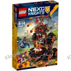 70321 MACHINA OBLĘŻNICZA GENERAŁA MAGMARA (General Magmar's Siege Machine of Doom) KLOCKI LEGO NEXO KNIGHTS Playmobil