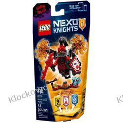 70338 GENERAŁ MAGMAR (Ultimate General Magmar) KLOCKI LEGO NEXO KNIGHTS