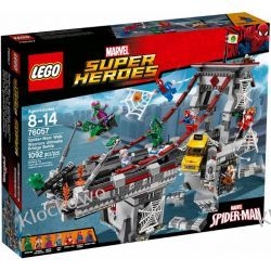 76057 SPIDERMAN: PAJĘCZY WOJOWNIK (Spider-Man: Web Warriors Ultimate Bridge Battle) - KLOCKI LEGO SUPER HEROES
