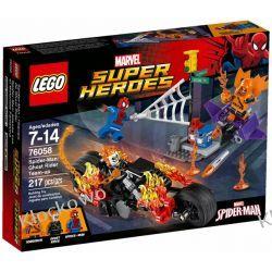 76058 SPIDERMAN: ATAK UPIORNYCH JUMPERÓW (Spider-Man: Ghost Rider Team-Up) - KLOCKI LEGO SUPER HEROES Kompletne zestawy