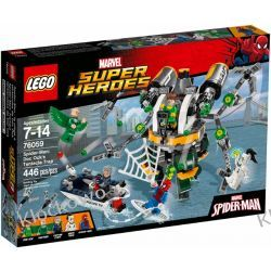 76059 SPIDERMAN: PUŁAPKA Z MACKAMI (Spider-Man: Doc Ock's Tentacle Trap) - KLOCKI LEGO SUPER HEROES Pirates