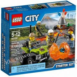 60120 WULKAN ZESTAW STARTOWY (Volcano Starter Set) KLOCKI LEGO CITY Inne zestawy