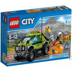 60121 SAMOCHÓD NAUKOWCÓW (Volcano Exploration Truck) KLOCKI LEGO CITY Kompletne zestawy