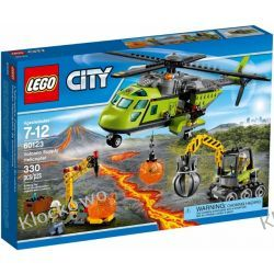 60123 HELIKOPTER DOSTAWCZY (Volcano Supply Helicopter) KLOCKI LEGO CITY Playmobil