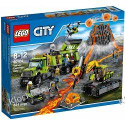 60124 BAZA BADACZY WULKANÓW (Volcano Exploration Base) KLOCKI LEGO CITY Kompletne zestawy
