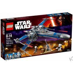 75149 MYŚLIWIEC X-WING RUCHU OPORU (Resistance X-wing Fighter) KLOCKI LEGO STAR WARS  Playmobil