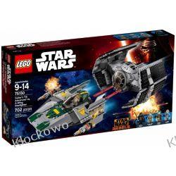 75150 TIE ADVANCED KONTRA MYŚLIWIEC (Vader's TIE Advanced vs. A-wing Starfighter) KLOCKI LEGO STAR WARS  Kompletne zestawy
