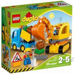 10812 CIĘŻARÓWKA I KOPARKA GĄSIENICOWA (Truck & Tracked Excavator) KLOCKI LEGO DUPLO