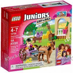 10726 - PRZYCZEPA KONNA STEPHANIE (Stephanie's Horse Carriage) - KLOCKI LEGO JUNIORS Playmobil