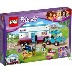 41125 PRZYCZEPA LECZNICZA DLA KONI (Horse Vet Trailer) KLOCKI LEGO FRIENDS