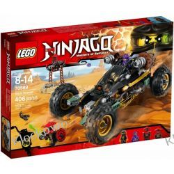 70589 POGROMCA SKAŁ (Rock Roader) KLOCKI LEGO NINJAGO Kompletne zestawy