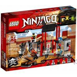 70591 UCIECZKA Z WIĘZIENIA KRYPTARIUM (Kryptarium Prison Breakout) KLOCKI LEGO NINJAGO Kompletne zestawy