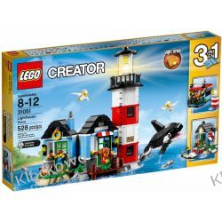 31051 LATARNIA MORSKA (Lighthouse Point) KLOCKI LEGO CREATOR
