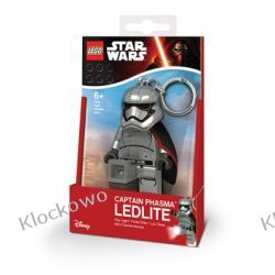 MINI LATARKA LED LEGO - CAPTAIN PHASMA (Key Light Captain Phasma) - BRELOK W PUDEŁKU Inne zestawy